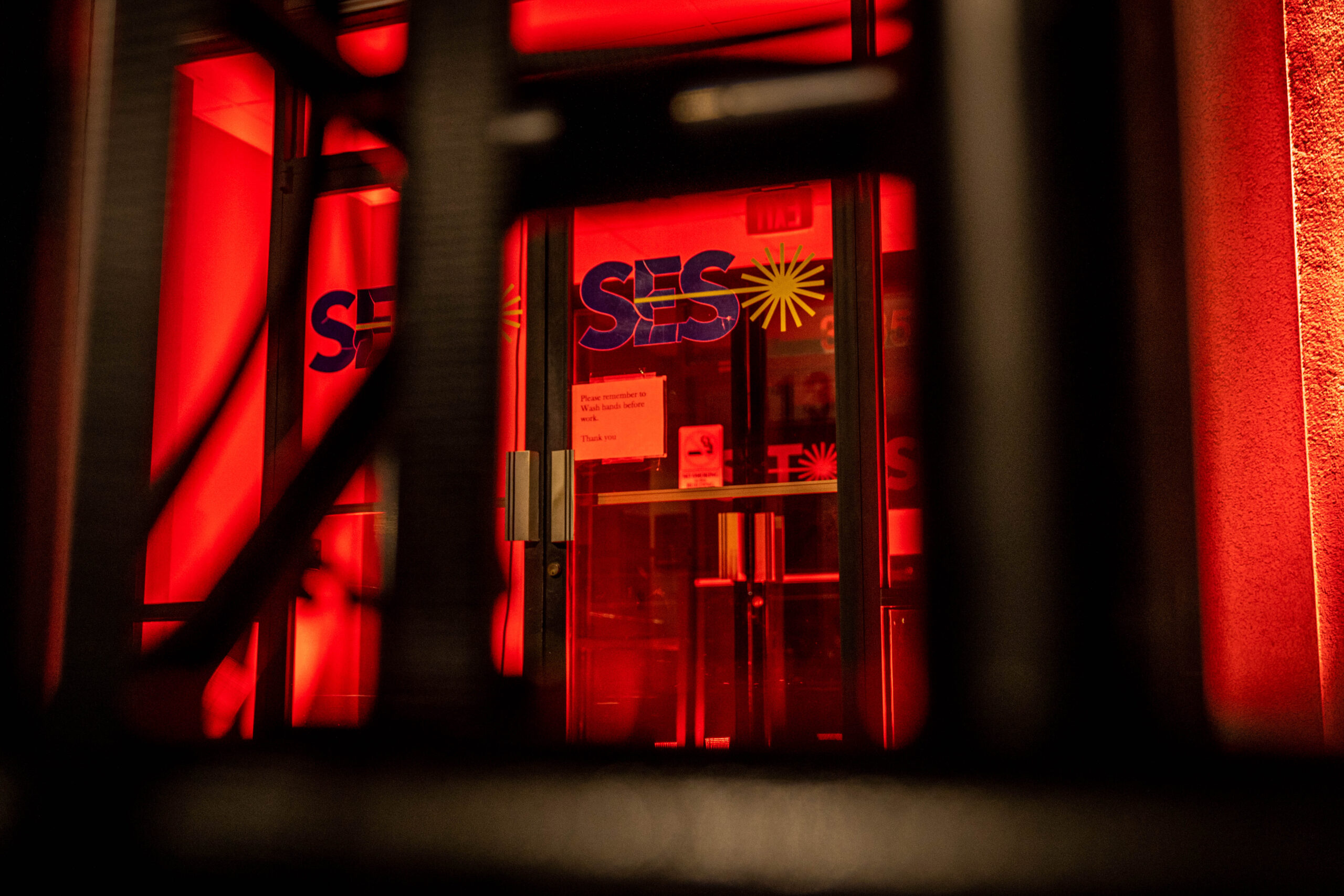 Dozens of Winston-Salem buildings lit up in red to support struggling entertainment industry