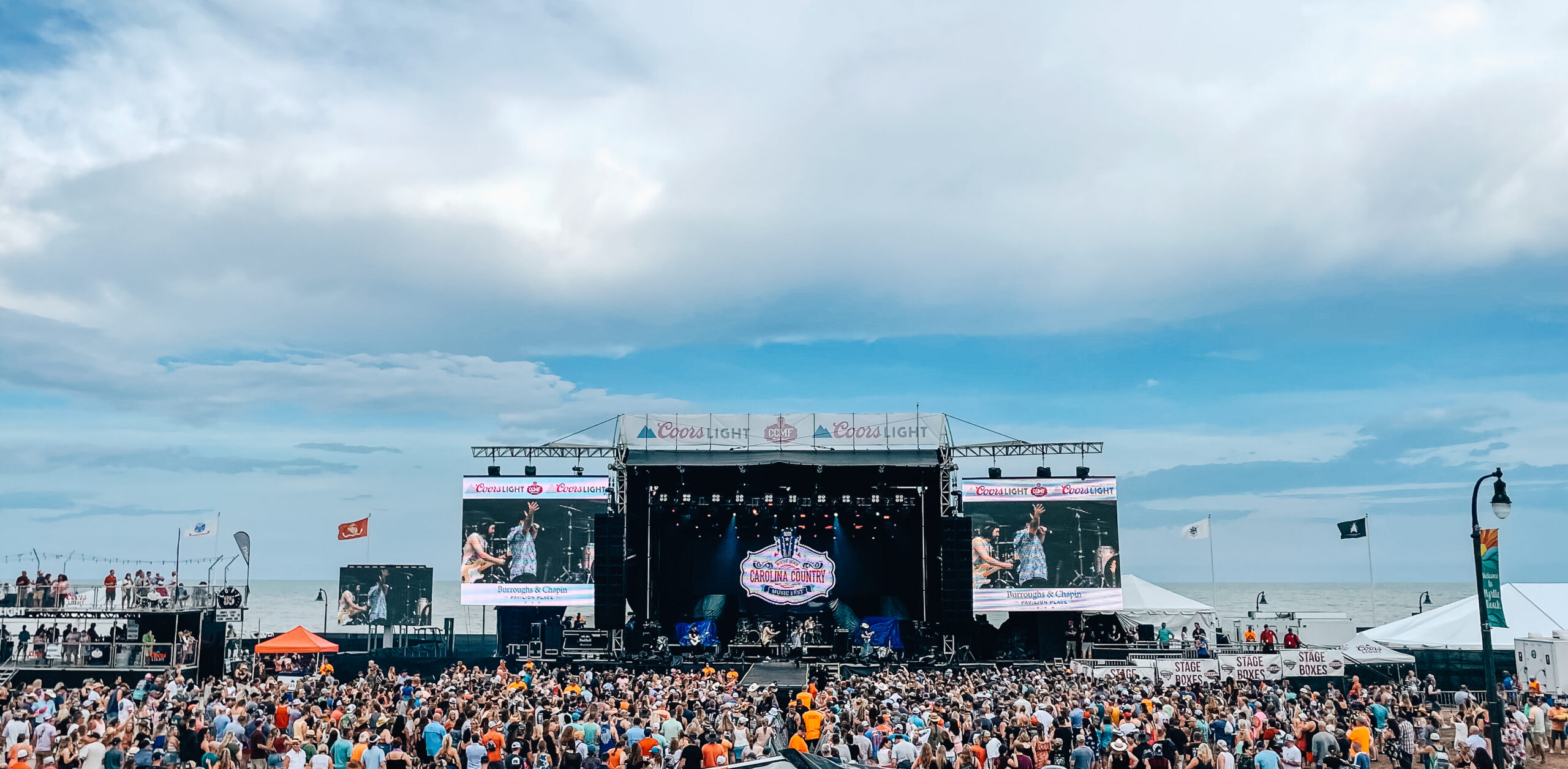 SES And Sister Companies Launch Full Speed Out of Pandemic at Carolina Country Music Festival